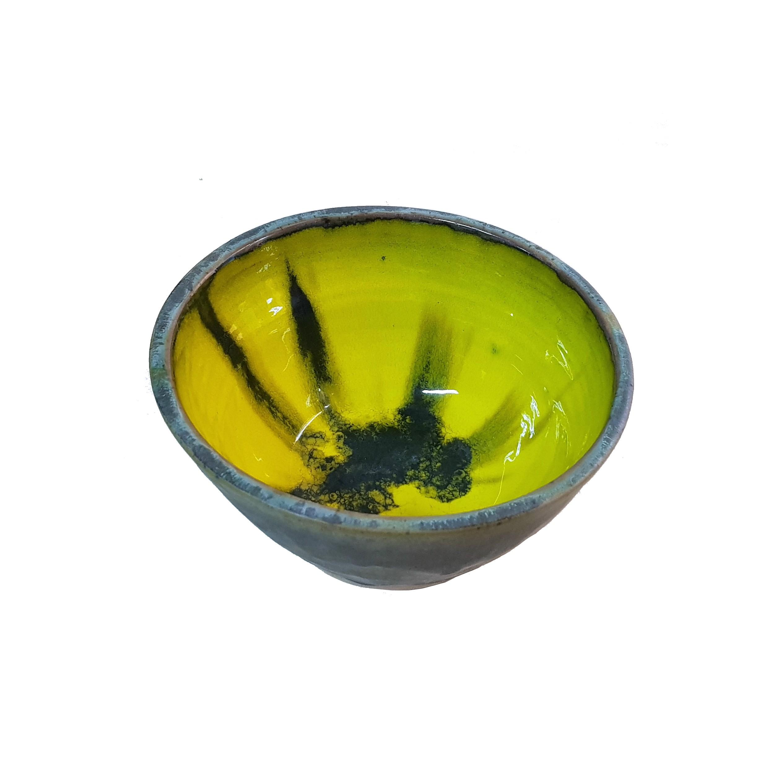 Bol mediu Yelllowstone_platter_ceramics_pottery_RafGallery