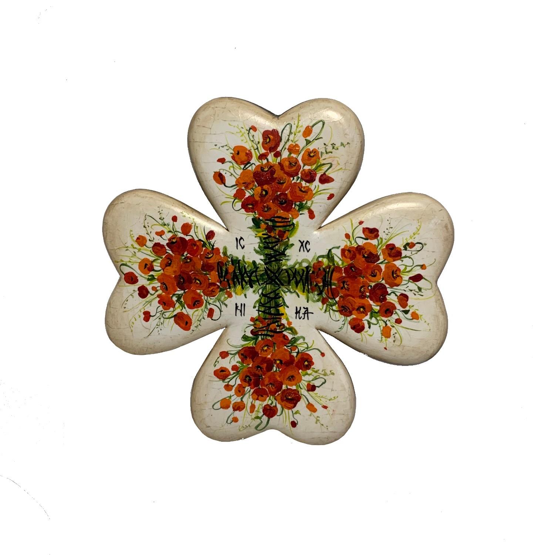 Cruce din lemn de nuc 1_wood cross_icon_hand made_traditional_RafGallery_romanian_art_VR_gallery_shop_360