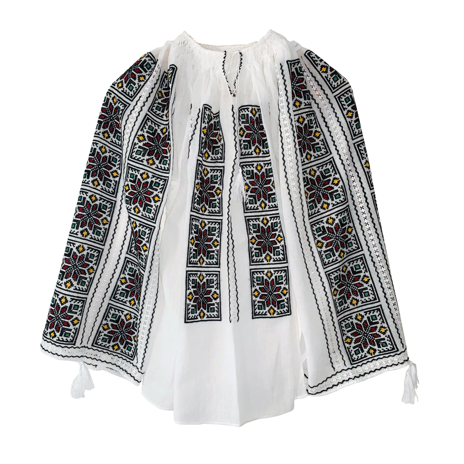 IE TRADIȚIONALĂ COD 06_Ie_Blouse_hand made_traditional_RafGallery_romanian_art_VR_gallery