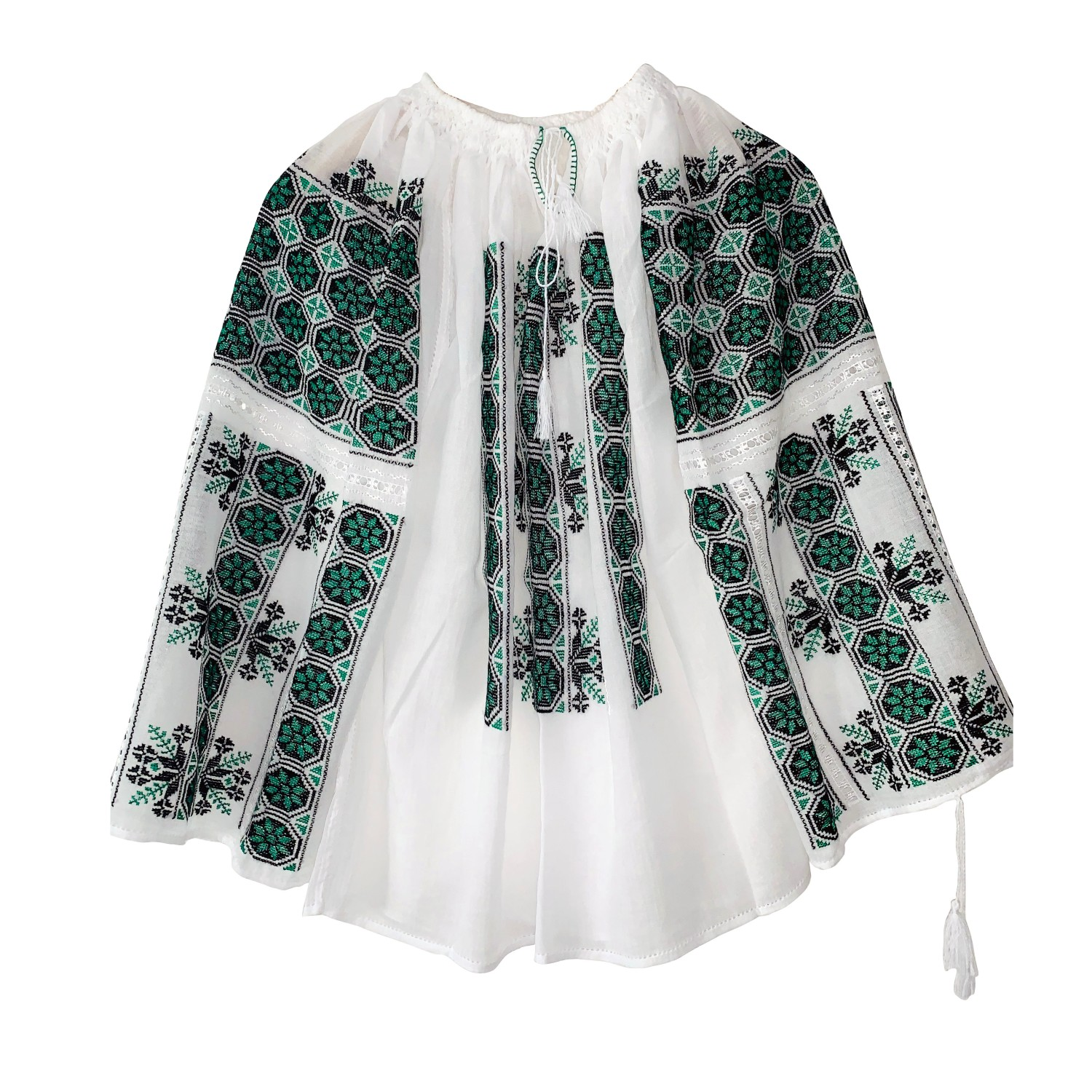 IE TRADIȚIONALĂ COD 10_Ie_Blouse_hand made_traditional_RafGallery_romanian_art_VR_gallery