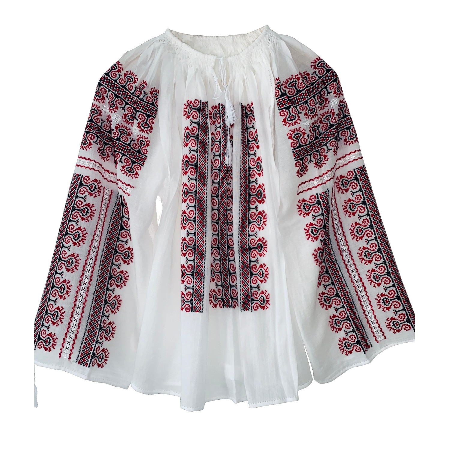 IE TRADIȚIONALĂ COD 18_Ie_Blouse_hand made_traditional_RafGallery_romanian_art_VR_gallery